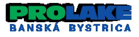 Prolake – Čistenie vodných plôch